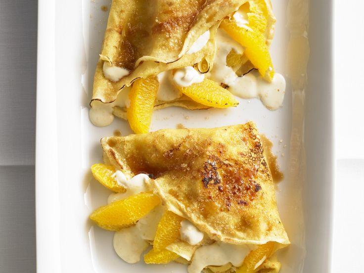 Cremig-fruchtiger Genuss! Crêpes mit Mascarpone-Orangen-Creme - smarter - Kalorien: 388 Kcal - Zeit: 50 Min. | eatsmarter.de