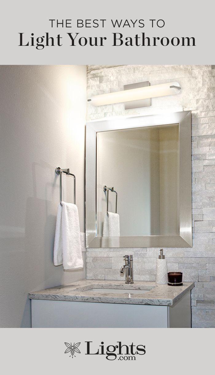 The Best Ways To Light Your Bathroom Top Bathroom Design Bathroom Design Bathroom Lighting