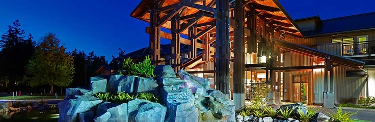 Sunrise Ridge Waterfront Resort on Resort Drive in Parksville