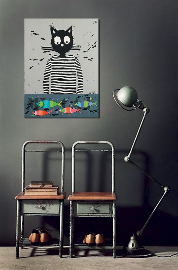 les 8 meilleures images du tableau chat marini re marine b sur pinterest. Black Bedroom Furniture Sets. Home Design Ideas