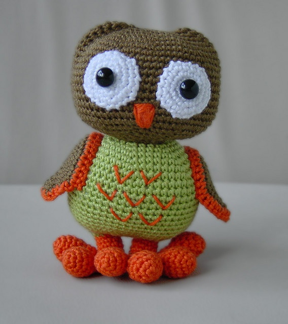 Cute Little Amigurumi Owl : Images about bookmarks keychains on pinterest