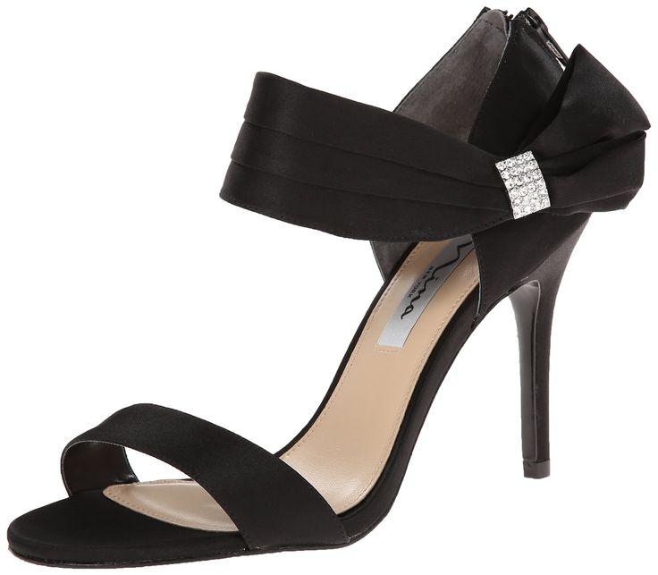 Nina Women's Cosmos LS Dress Sandal, Black, 9 M US