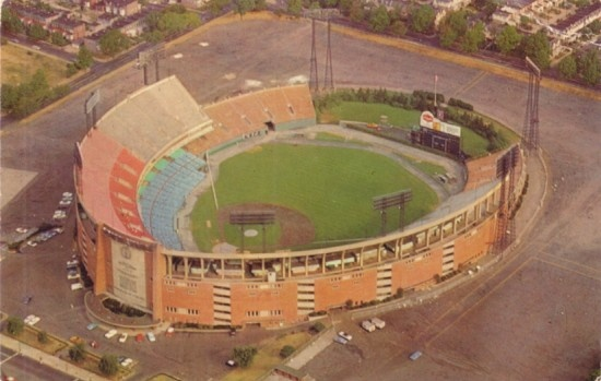 Baltimore's Memorial Stadium ~We always sat a few rows behind the 3rd base dugout (the Orioles dugout)