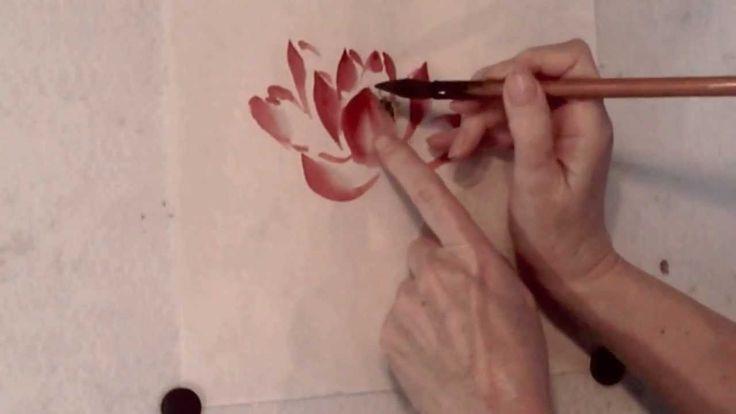 Red Lotus Flower Demo