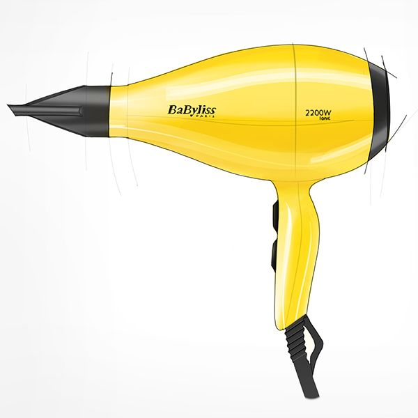 Digital hairdryer