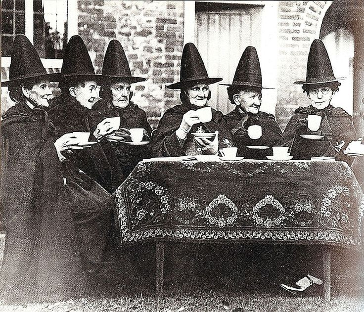 this is wonderful. I want to have a brunch with all my friends where we are all required to dress like witches!