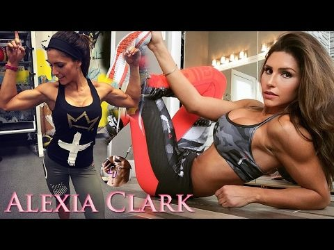 Alexia Clark | Personal Trainer: Resistance LEGS, Build MUSCLE, Squats! @USA - YouTube
