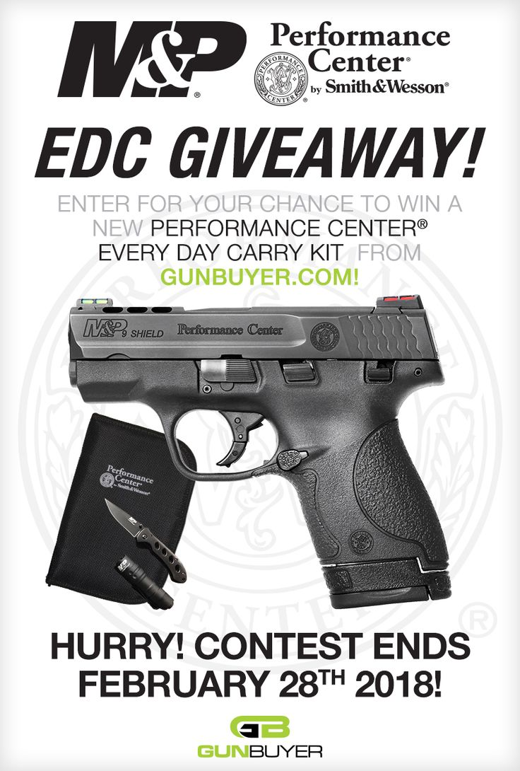 S&W Performance Center M&P Shield 9mm Package Giveaway  http://woobox.com/jguv6v/jzpa5a