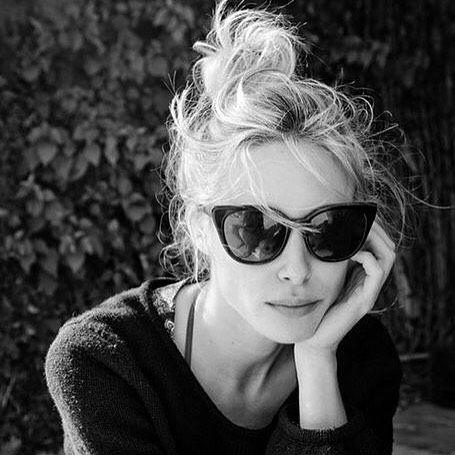 Coque podrinho + óculos para um dia sem complicação... | DDB Inspira @diadebeaute