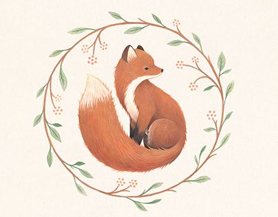 A foxy illustrated logo