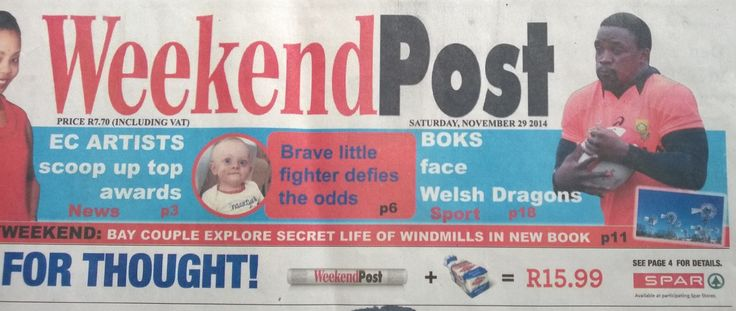 Weekend Post 29th November 2014