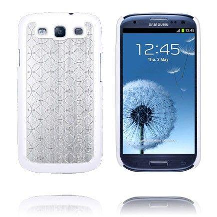 UniQuad (Zilver) Samsung Galaxy S3 Case