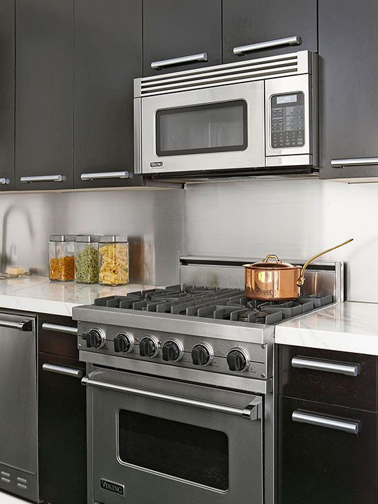 Kitchen backsplash ideas cabinets countertops and dark and light Kitchen backsplash ideas bhg