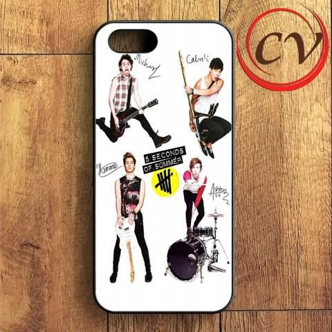 5sos Five Second Of Summer iPhone SE Case
