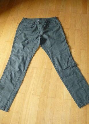 Kaufe meinen Artikel bei #Kleiderkreisel http://www.kleiderkreisel.de/damenmode/rohrenhosen/131576216-dunkelgrune-hose-von-street-one