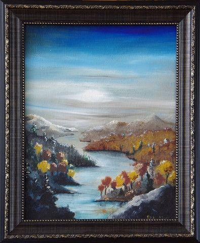 framed nature scene