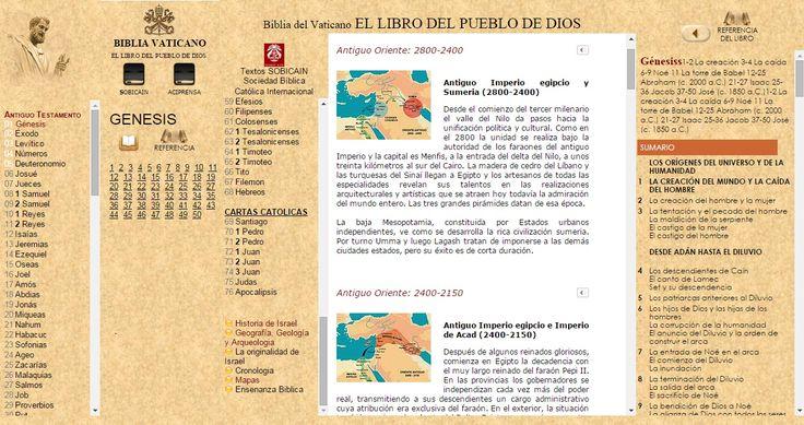 OÍR LA BIBLIA Católica [MAPAS] ONLINE con EL Vaticano VaticanONLINE desde WWW.CATHOLIC.CF