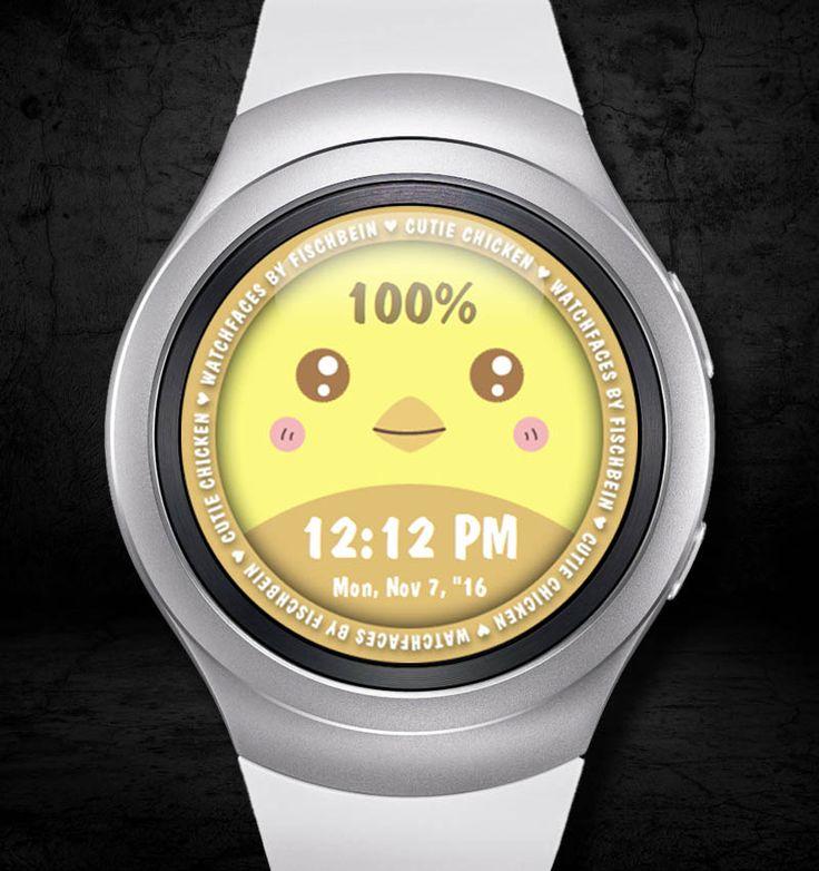 Cutie Chicken 12h – Watchfaces by Fischbein