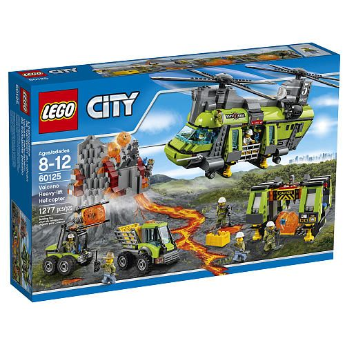"LEGO City Volcano Heavy-lift Helicopter (60125) - LEGO - Toys ""R"" Us"
