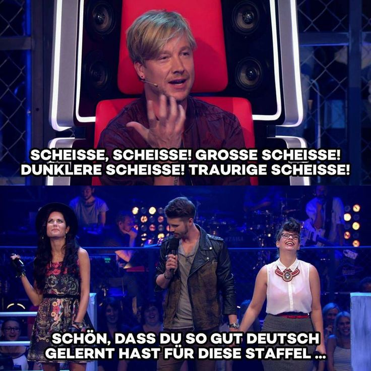 He's so cute in the Voice of Germany