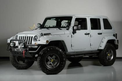 Lifted 2013 Jeep Wrangler Unlimited Fastback Hardtop ...