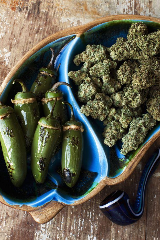Stuffed Stoned Jalapeno Poppers   17 Marijuana Snacks To Eat During The Stoner Bowl