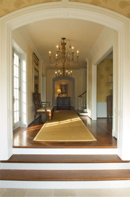 : Glamorous Home Hall And Entryway Interior Designed With