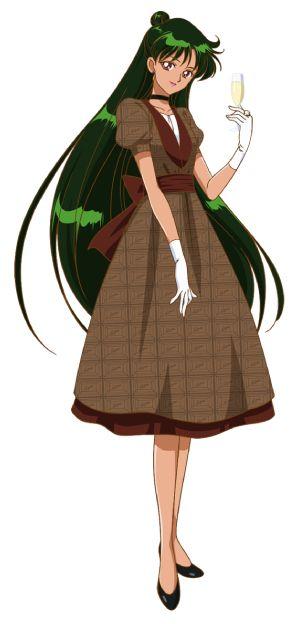 Setsuna Meio (Sailor Pluton ) ( Anime : Sailor Moon )