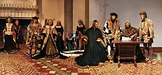 Mariage avec Charles VIII au château de Langeais. «Loire Indre Langeais » par Tango7174 — Travail personnel. Sous licence cc-by-sa 3.0 via Wikimedia Commons