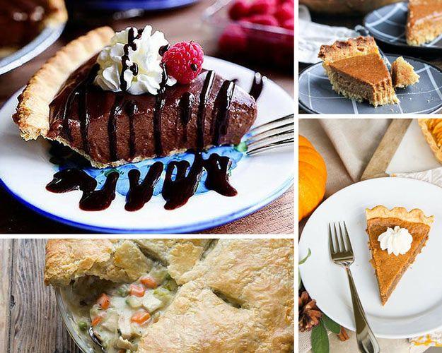 Thanksgiving Pies | Thanksgiving Table Ideas