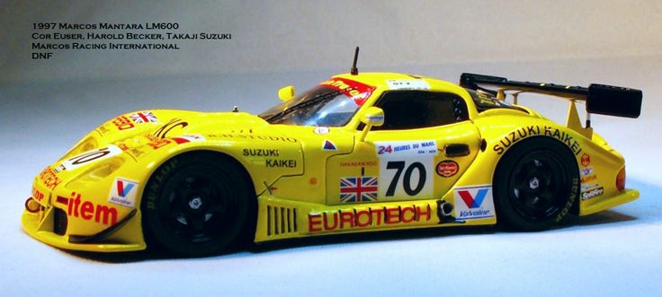 1997 Marcos Mantara LM600 #70