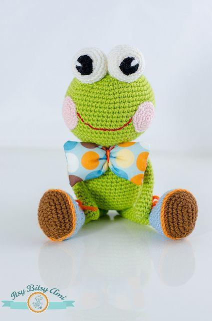 Marvin, The Frog Amigurumi Crochet