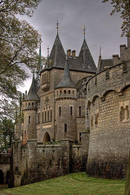 The lovely Marienburg Castle, Hannover, Germany (Schloss Marienburg by Thomas Frejek, via Flickr)