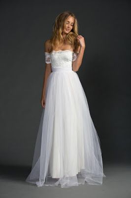 somosnovias:  Vestidos de novia sencillos 20 MODELOS DE MODA!