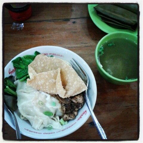Mie Pangsit.. #Indonesianfood