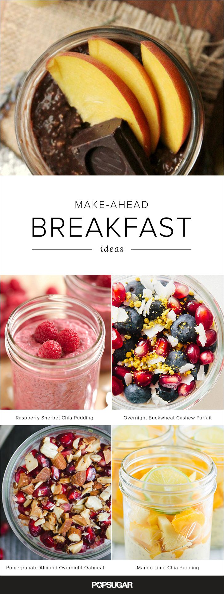 Mason jar meals aren  39 t limited to salads  there are plenty of make ahead breakfasts that can be given the same treatment   Keep reading for grab and go recipe inspiration to start your morning off right