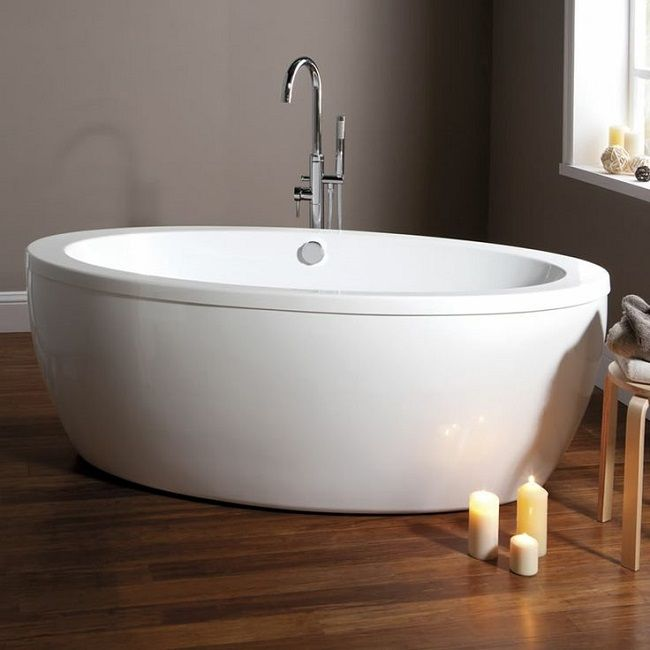free standing baths milano contemporary oval