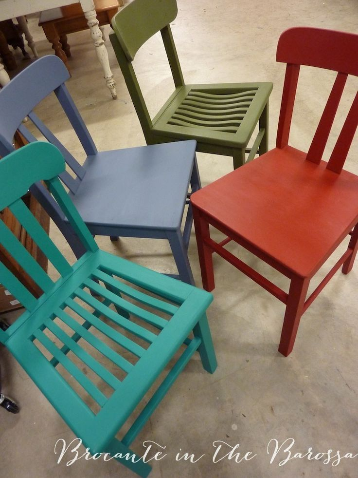 Chairs Painted In Chalk Paint TM Decorative Paint By Annie Sloan In (from  Front Left Part 77