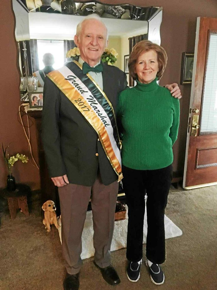 UPPER DARBY >> The week, thus far, has been a whirlwind for Barney Boyce of Upper Darby. Ever since the 82-year-old longtime Delaware County resident was named grand marshal of the 247th Philadelphia St Patrick's Day Parade, excitement an