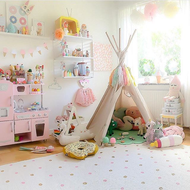 Best 25 teepee kids ideas on pinterest for Kids play rooms