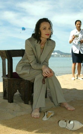 """British actress Kristin Scott Thomas's love affair with France began when she moved to Paris in her late teens to work as an au pair. She studied acting at the École nationale supérieure des arts et techniques du théâtre, and has lived in the country ever since."""