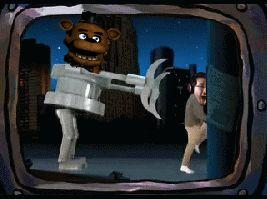 Mark wasn't ready for Freddy.