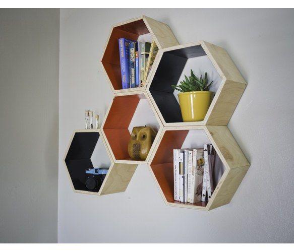 Honeycomb Shelves Set