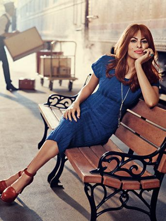 Eva Mendes Collection - Ali Sweater Dress #blueroofind
