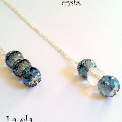 verižica z kristali