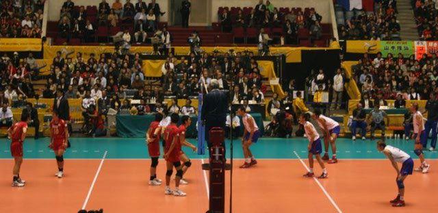 Copa Mundial de los Grandes Campeones de Voleibol: Partido Voleibol, Japón Vs Francia