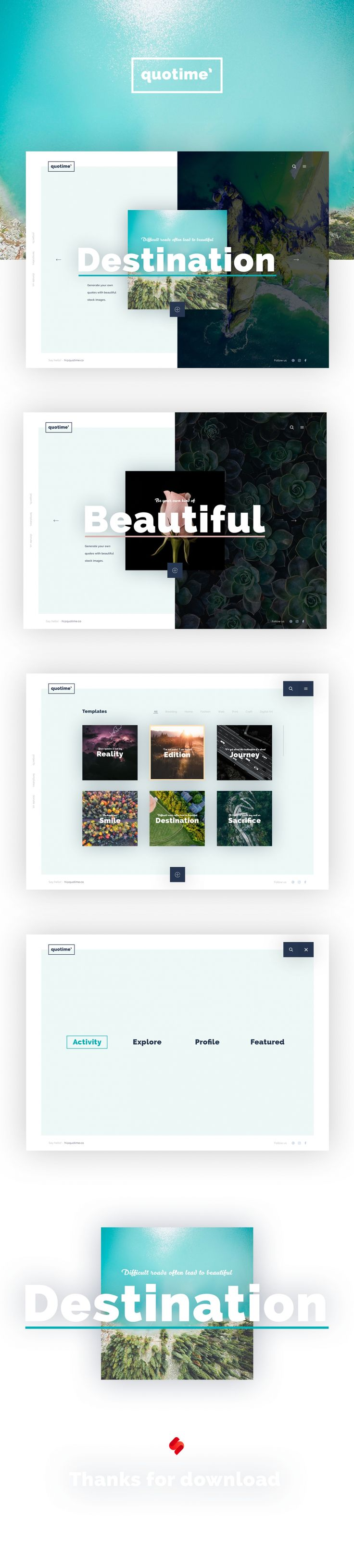 Free PSD for webdesigners. Download awsome templates, Icons and Mockups for free!