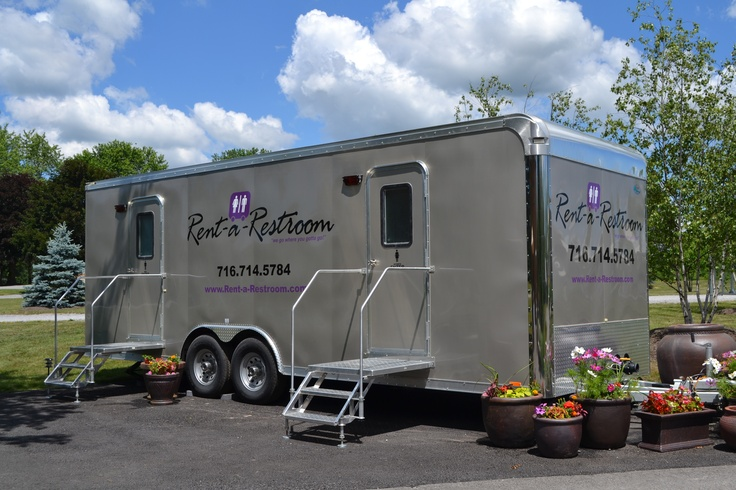 30 Best Images About Executive Portable Bathroom Trailers On Pinterest Wedding Events Lady