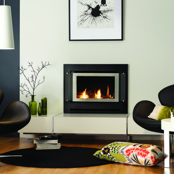 sapphire zero clearance gas log fireplace rinnai australia