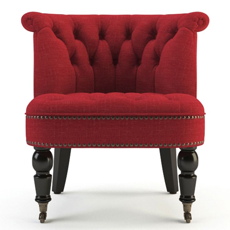 Chair | Passion Red / Black by Contemporary Classics on POP.COM.AU